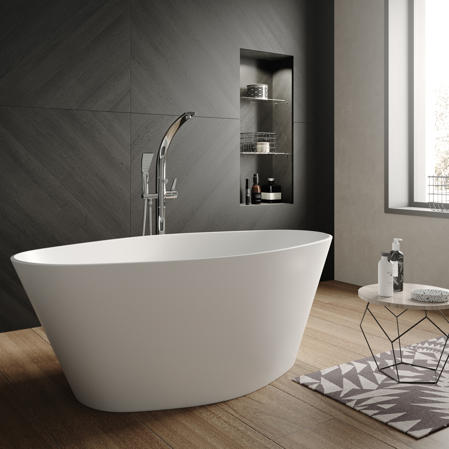 Hudson Reed Rose L1510 x W760mm Oval Freestanding Bath NBB002(2).jpg