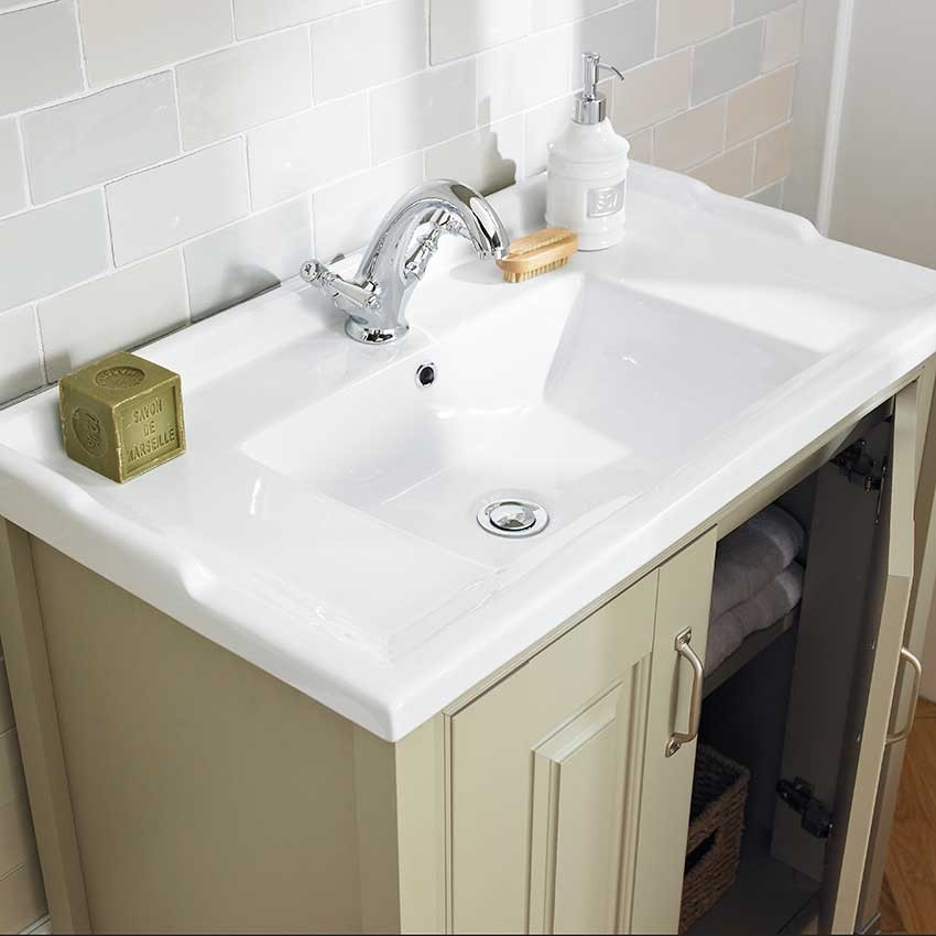 Old London Pistachio Traditional 800mm Vanity Cabinet & Basin LDF205_2.jpg