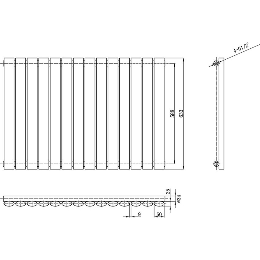Radiator - High White Gloss - 633 x 826mm HL324 map2.jpg