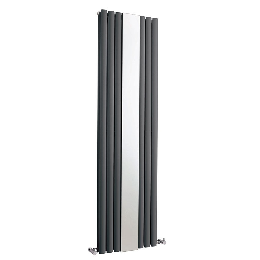 Revive Double Panel Designer Radiator With Mirror - Anthracite - 1800 x 499mm HLA79.jpg