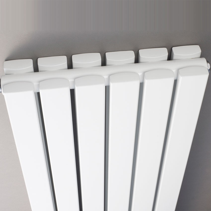 Sloane Double Panel Designer Radiator - High Gloss White - 1800 x 354mm HLW44 view.jpg