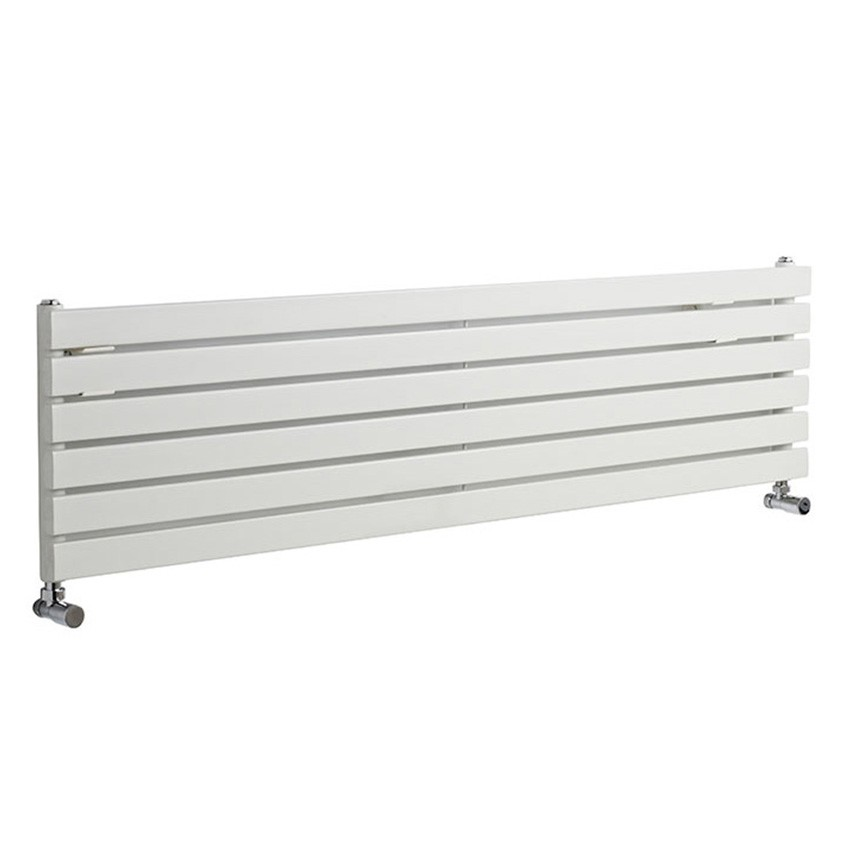 Sloane Single Panel Designer Radiator - High Gloss White - 1500 x 354mm HLW41_view.jpg